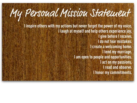 Essential Steps to Develop a Personal Mission Statement – peterpilt