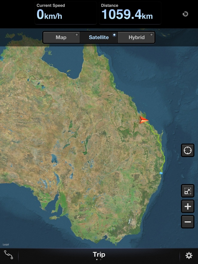 Around Australia Trip - Coffs to Rockhampton (1/4)