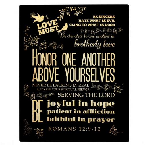 A Powerful One Minute Devotion on Romans 12:9-21